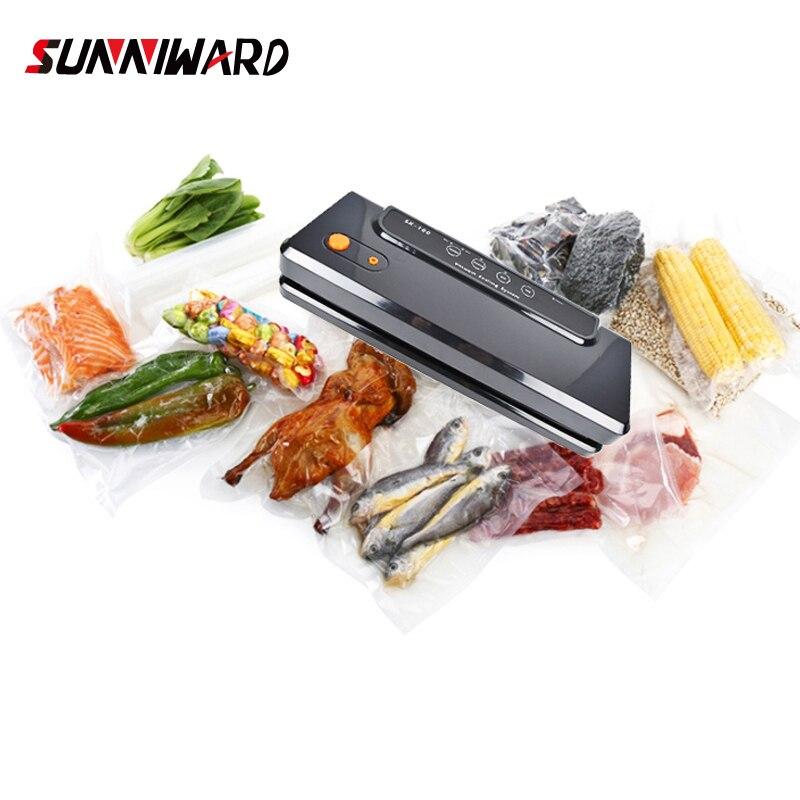 Sunniwa Multi-function Vacuum Sealing Machine Home Best Vacuum Sealer Fresh Packaging Machine Food Saver Vacuum Packer Bags 150w