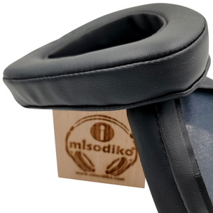 Image 5 - Misodiko Vervanging Oorkussens Kussen Kit Voor Asus Rog Delta Gaming Headset, Hoofdtelefoon Reparatie Onderdelen Oordopjes (Zwart)