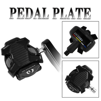 RICHY New Upgrade Road Bike Clipless Pedal Platform Adapter Convert For Shimano SPD Look KEO System Bicycle Clip Pedal Adaptor bicycle pedal mtb bike self locking spd pedal clipless pedal platform adapters for shimano spd looking keo system accessories