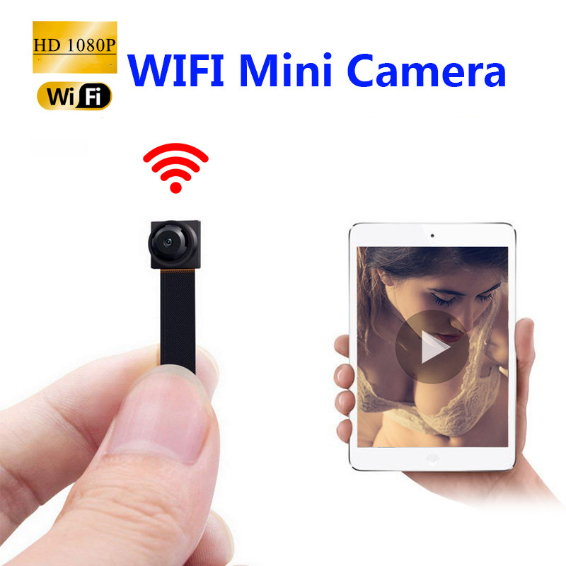 1080P HD Portable WiFi IP Mini Camera P2P Wireless Micro webcam Camcorder Video Recorder Support Remote View Hidden TF card image