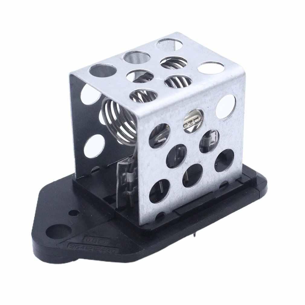 ACAMPTAR Control de Ventilador de Ventilador de Motor de Resistencia de Calentador de 4 Pines para Rover 25 Civic