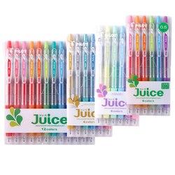 Ручка PILOT JUICE LJU-10UF 0,5 мм многоцветная гелевая шариковая ручка Япония 12 видов цветов/набор 6 цветов/набор Канцтовары для офиса и школы