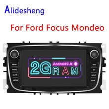2Din Android 9.0 Car Radio Multimedia Player For Ford Focus S-Max Mondeo 9 Galaxy C-Max II Kuga GPS Navigation 2G RAM(China)