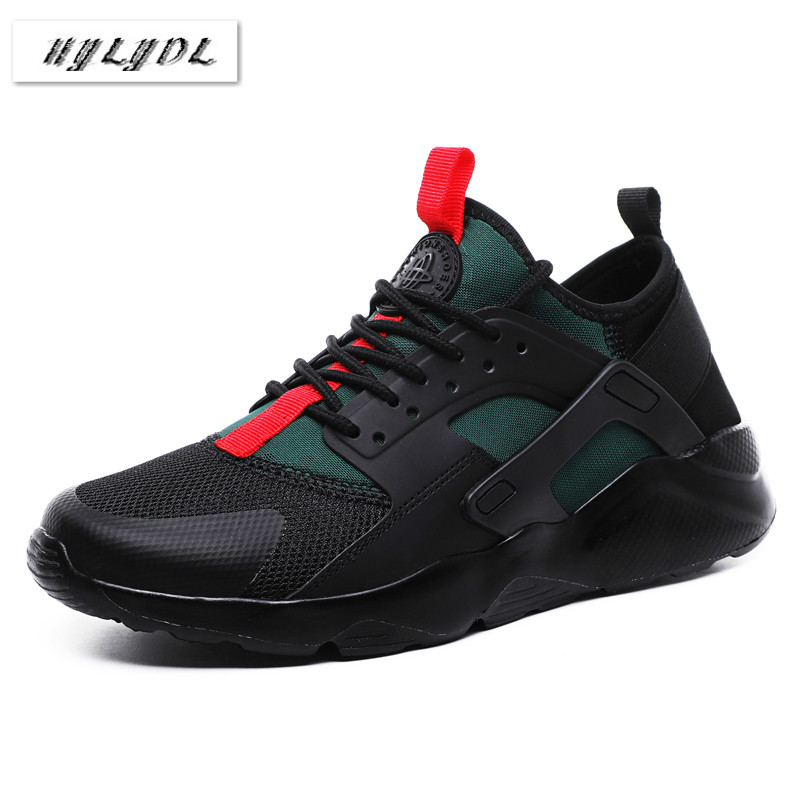 Shoes Men Sneakers Running Shoes For Men Trainers Breathable Light Black Shoes Summer Basket Hombre Sapato Masculino Krasovki