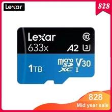 Lexar-tarjeta Micro SD 633x Original, 1TB, 32GB, 64GB, 128GB, 256GB, Clase 10, tarjeta tf para interruptor de teléfono móvil