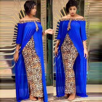 Vestido de caftán islámico, estampado de leopardo, Abaya de Dubai, hiyab turco,...
