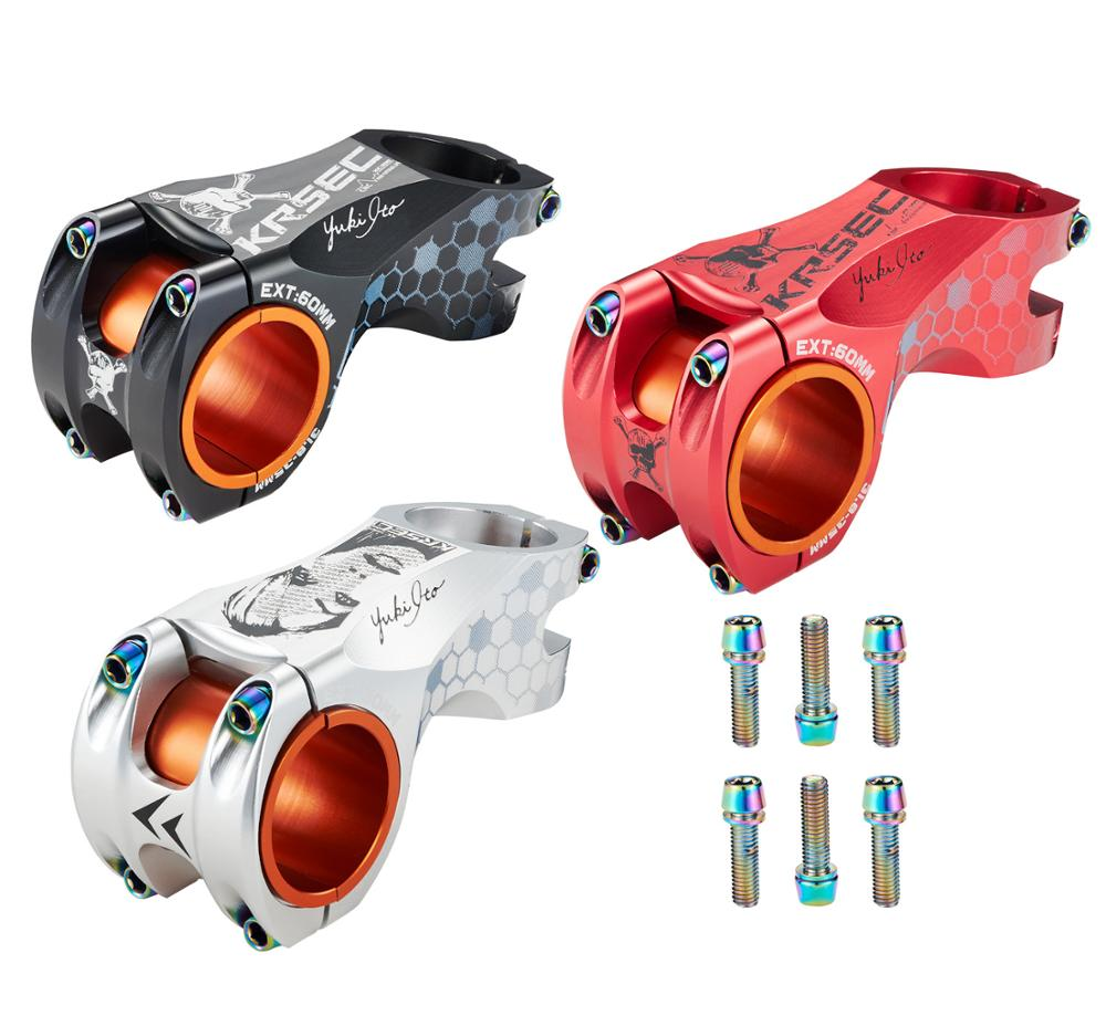 M5*18mm 6pcs Ti Titanium Plated Stem Screws Bicycle Bolts MTB Steering Handlebar