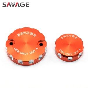 Image 4 - Front Rear Brake Cylinder Reservoir Cover For 990 SMT/Supermoto/R SUPER DUKE, 690 DUKE R Motorcycle Accessories Oil Fluid Cap