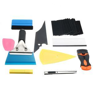 Image 5 - 28 * รถฟิล์มไวนิล Tools Squeegee Scraper Applicator ชุดอุปกรณ์จัดแต่งทรงผม Window Tint Wrapping เครื่องมือ
