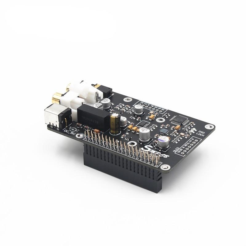 op decodificador i2s 32bit 384k dsd128 para raspberry pi 4b 3b 02