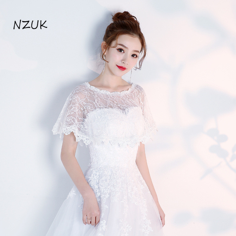 Bridal Bridesmaids Cover Up Shawl Soft Lace Women Cape High Low Sheer Summer Autumn Wedding Prom Party Wrap PJ010