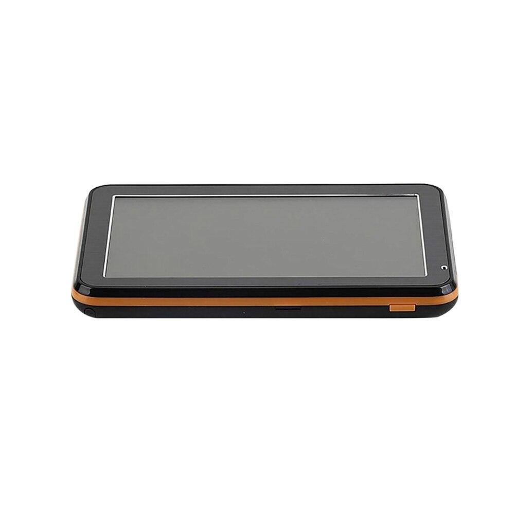 Accessoires Europe GPS navigateur voiture camion MP3 MP4 Portable fichier navigateur Bluetooth photos afrique FM LCD écran 5 pouces grande-bretagne