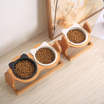 Height Adjustable Holder for Cats Bowl 1