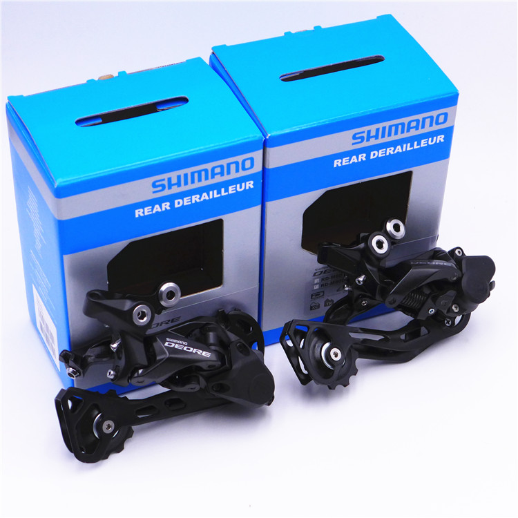 SHIMANO Deore <font><b>M6000</b></font> GS/<font><b>SGS</b></font> 10-speed rear-dial transmission for mountain bikes image