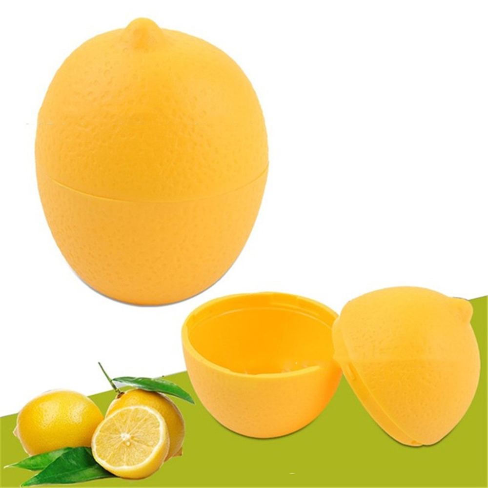 Lemon Fresh Storage Box Lemon Fresh Boxes Container Holder Bulb Shaped Fruits Vegetables Storage Boxes For Kitchen Refrigerator