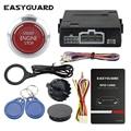 EASYGUARD RFID Автомобильная сигнализация с кнопкой запуска двигателя старт/стоп и транспондер иммобилайзер бесключевая система go DC12V