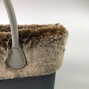 Image 5 - 11 colors Plush Trim Thermal Trims Fit for Classic Mini Size O bag Obag handbag Accessories