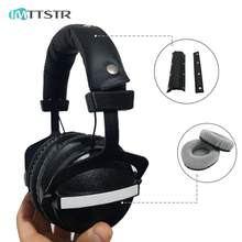 IMTTSTR Universal Replacement EarPads Headband for Superlux HD660 HD330 HD669 HD 330 660 669 Earphones Cushion Bumper Cover(China)