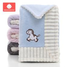 Baby Blankets Newborn Flannel Swaddle Wrap Blanket Super Soft Toddler Infant Bedding Quilt for Bed Sofa Basket Stroller Blankets светодиодные модули в дверные катафоты корея для hyundai grand santa fe 2012 2018