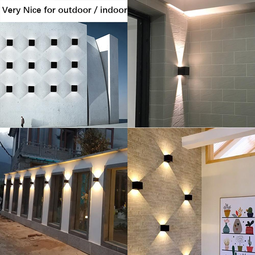 Image 5 - Outdoor Waterproof IP65 Wall Lamp Modern LED Wall Light Indoor Sconce Decorative lighting Porch Garden Lights Wall Lamps BL700-in LED Outdoor Wall Lamps from Lights & Lighting
