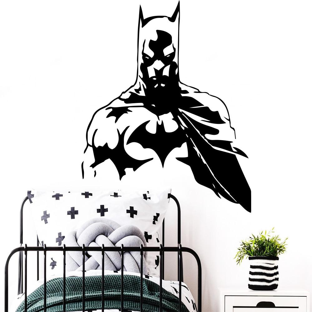 Batman,Sticker,Kids,3D,Decal,Bedroom,Wall Art,Mural