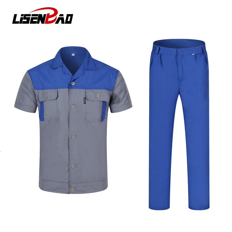LiSENBAO 2019 New Arrival Men Shirt Mens Business Casual Shirts Famous Clothing Short Sleeve Work Suit Camisa Masculina  LS-1865