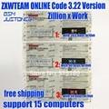 Онлайн ZXW команда 3 2 схемы цифровой код авторизации Zillion X схема работы для iPhone iPad Samsung логическая плата