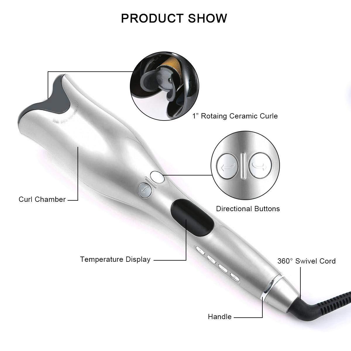 Modeladores de cabelo automáticos para mulheres profissional
