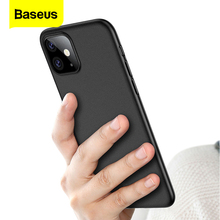 Baseus Luxury Phone Case For iPhone 11 Pro Max Xs Max Xr X 11Pro Back Cover 0.4mm Ultra Thin Silm PP Coque Fundas For iPhone11