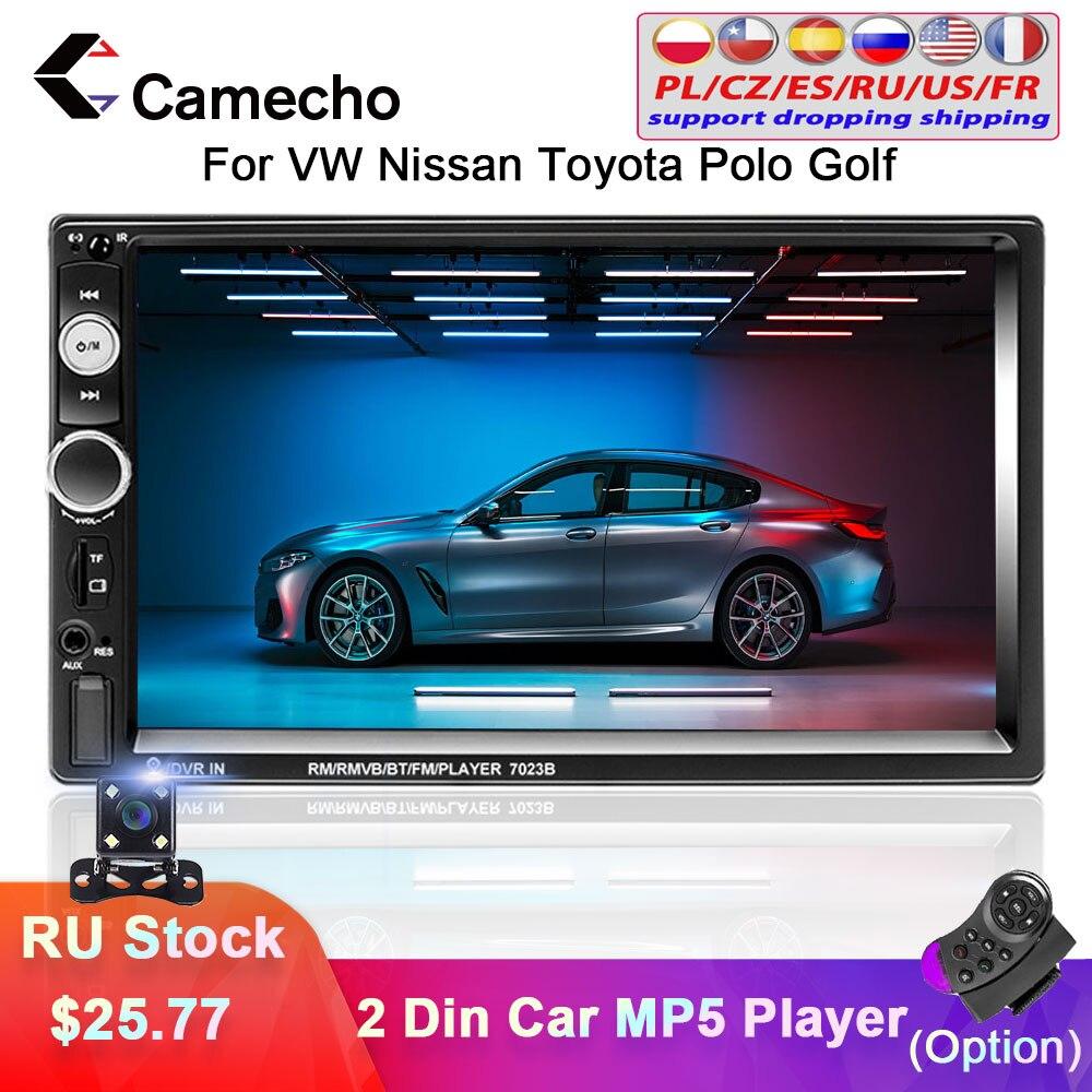 Camecho 2 Din Car Radio 7