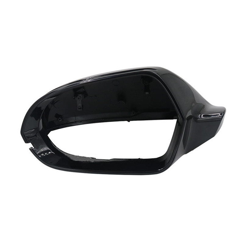 For AUDI A6 S6 C7 12-18 Front Left Wing Side Black Mirror Heated Adjust Folding