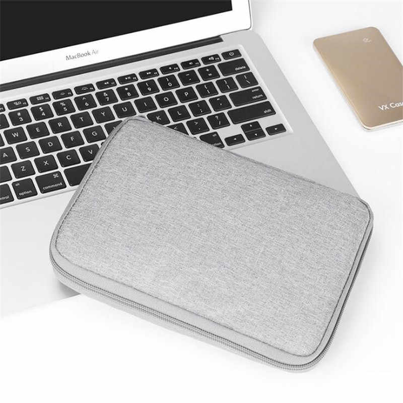 BUBM 2019 Multifunction Digital Storage Bag Earphone Wire pen portable battery HDD Empty USB Data Cable Travel Kit Case Pouch