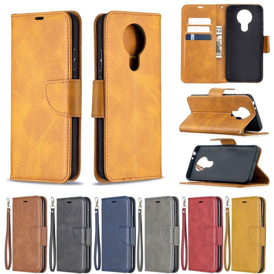 Роскошный кожаный флип-чехол для NOKIA 3,4 2,4 силиконовый чехол для NOKIA 1,3 2,3 Чехол-Бумажник для телефона Funda NOKIA 5,3 чехол Coque
