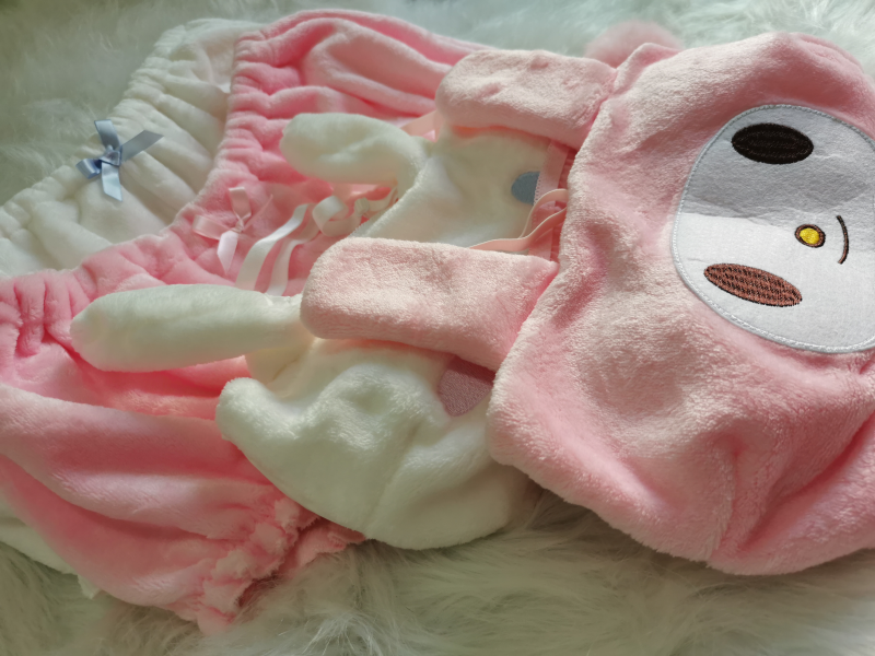 H232653cc3ee34247b68cdc12027ccafcW Cinnamoroll My Melody Clothes Sexy Cute Lovely Bunny Girl White Pink Anime Cospaly Kawaii Christmas Lingerie Outfits for Women