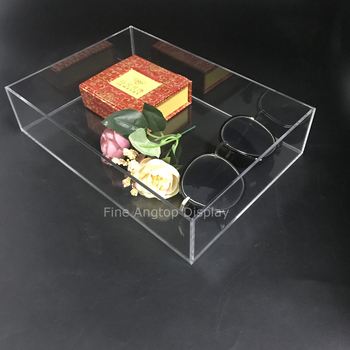 Quality Acrylic Makeup Brushes Holder Cosmetic Makeup Organizer Jewelry Display Tray new acrylic board makeup brushes holder organizer drying rack shelf cosmetic tool multifunction brushes storage stand display