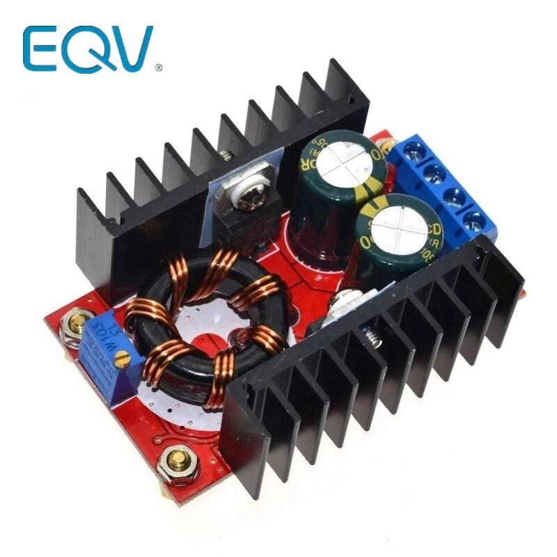 150W повышающий преобразователь постоянного тока с DC-DC 10-32V постоянного тока до 12-35 в Step Up Напряжение Зарядное устройство Модуль