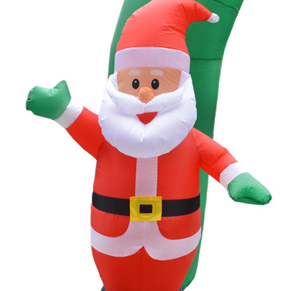 Снеговик Санта Клаус Рождество надувная АРКА вечерние украшения счастливого Нового года Добро пожаловать реквизит Рождество надувная АРКА - 5