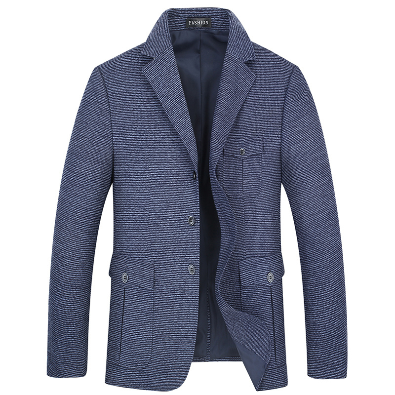 Plus 10XL 8XL 6XL Hot Sale Mens Korean Slim Fit Arrival Cotton Blazer Suit Jacket Blue Plus Size Male Blazers Mens Coat Wedding