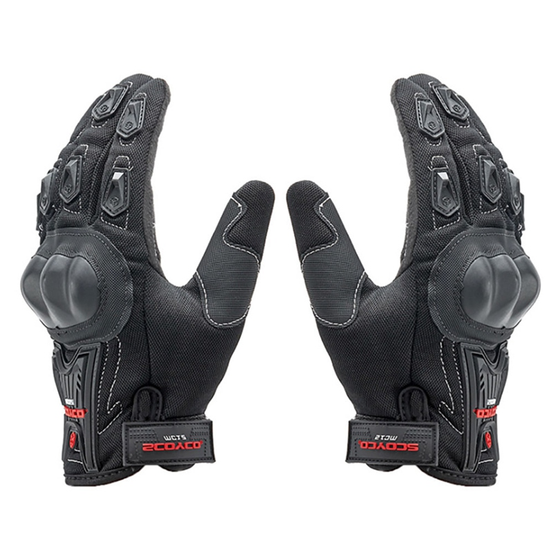Breathable Mesh Motorcycle Riding Glove Accessories Outdoor Sports Handwear Gloves Cycling Gloves Full Finger Thin Touch Screen
