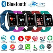 Fitness Smart Bracelet Heart Smart Detect Color Tracker Snap Swim Posture Rate Sleep Bluetooth Touchscreen(China)