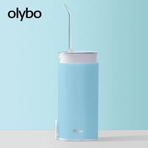 Image 1 - Olybo Di Động Miệng Irrigator USB Sạc Nước Dental Flosser Irrigator Để Vệ Sinh Răng Nước Đựng Tăm