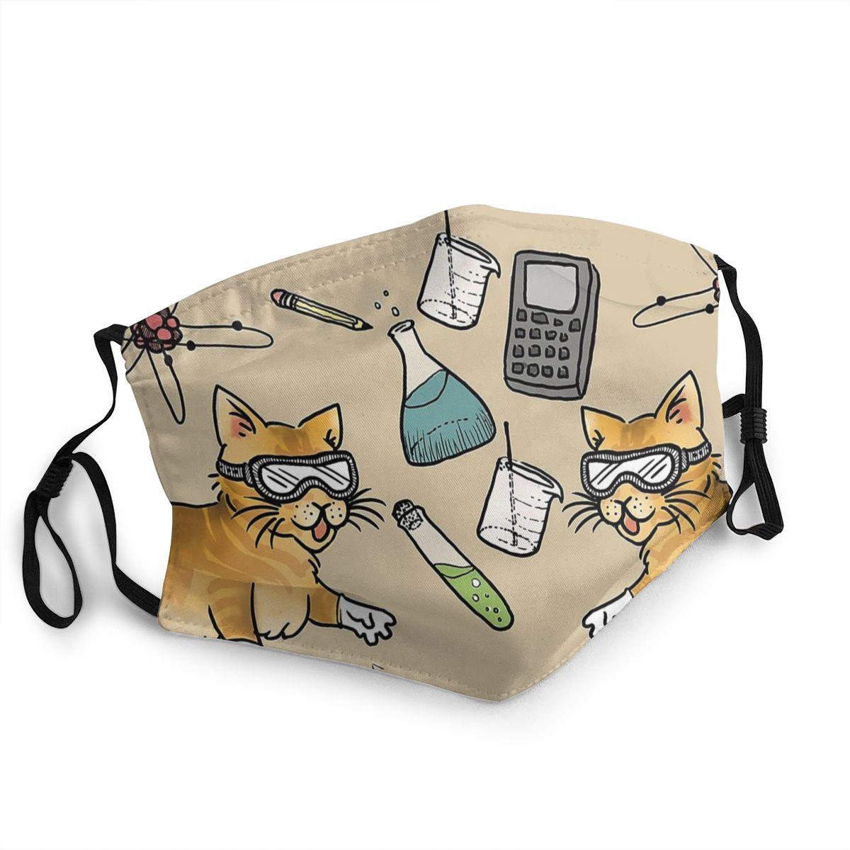 Стебель кошки неодноразовая маска для лица химия анти дымка Пылезащитная маска респиратор рот муфельная