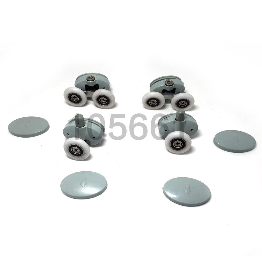 4 X Shower Door ROLLERS/Runners/Wheels 23mm/25mmDiameter Replacement Parts