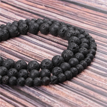 Hot Sale Natural Stone Volcanic Stone 15.5 PicBlue Peacockk Size 4/6/8/10/12mm fit Diy Charms Beads Jewelry Making Accessories