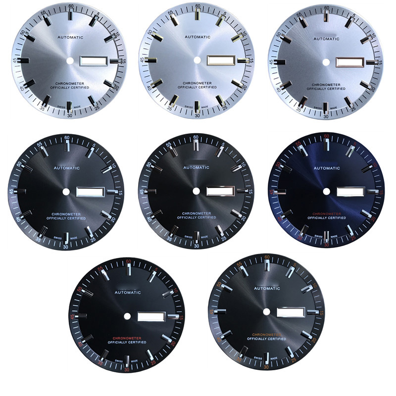 36.5mm Watch Dial Case For M021431A Men's Mechanical M021 Watch Text Watch Accessories M021431 Repair Parts For 2836