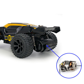 JJRC-Q88 4WD RC Car 1:22 15km/h High-speed Racing 2.4G Off-road Outdoor Remote Control Car Climbing Car Children Toy With Light 4