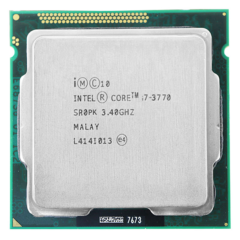 For Intel Core i7-3770 I7 3770 CPU 3.4GHz 8M 77W 22nm Quad-Core Socket <font><b>1155</b></font> Desktop CPU image