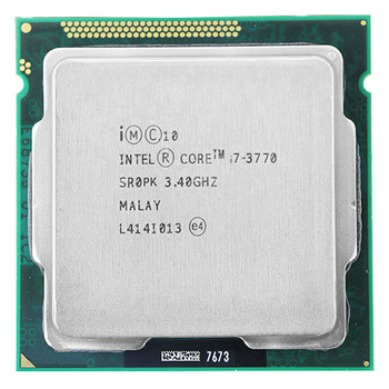 Intel Core i7 3770 CPU I7 3770 3.4GHz 8 メートル 77 ワット 22nm クアッドコアソケット 1155 デスクトップ CPU -