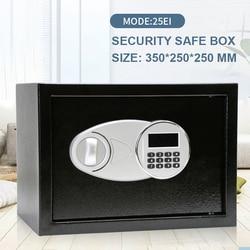 Сейф 35X25X25CM безопасности цифровой пароль коробка наличные ювелирные изделия дома отель замок клавиатуры безопасности секретные сейфы