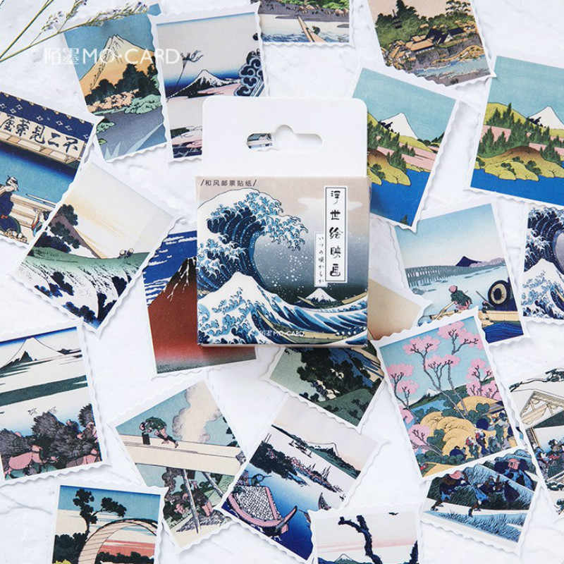 40 Pcs Pack Japanese Island Toy Stickers for Car Styling Bike Motorcycle Phone Laptop Travel Luggage Cool Funny Sticker Decals